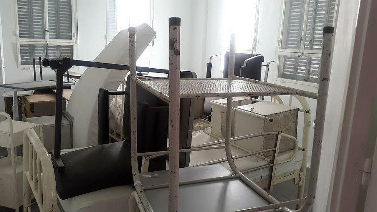 Estado de abandono del Centro Gallego de Buenos Aires.Reconstrucción de la escena del crimen en el expediente judicial