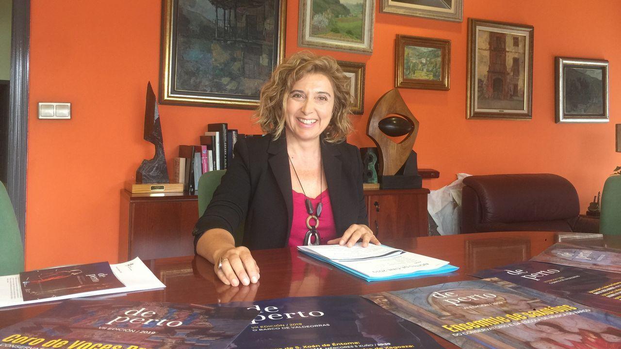 Albergue municipal de Castrelo de MIño: A directora xeral de Familia, Infancia e Dinamización Demográfica, Amparo González, clausura o I Encontro Autonómico de Consellos de Participación Infantil e Adolescentes.