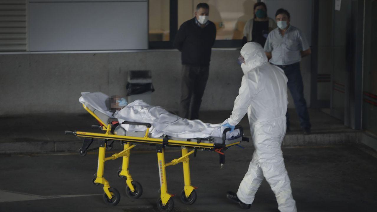Chuac, entrada paciente en Urgencias