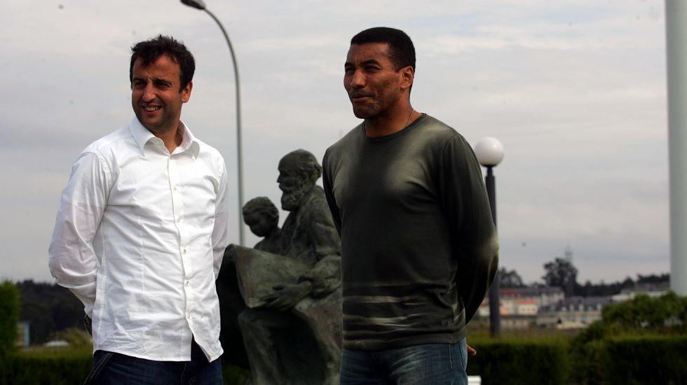 Las mejores imágenes del acto del 110 aniversario del Deportivo.Último partido en Primera entre Dépor y Alavés, en mayo del 2006