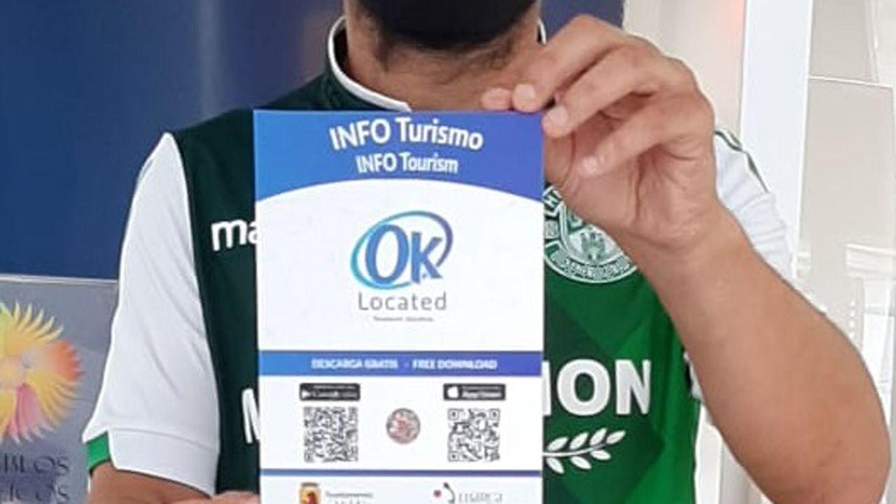 Presentación app OK Located en Luarca y Valdés