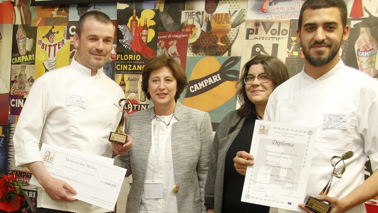Concurso de Cociña e Coctelaría José Rodríguez-Moldes Rey, en el IES Fraga do Eume