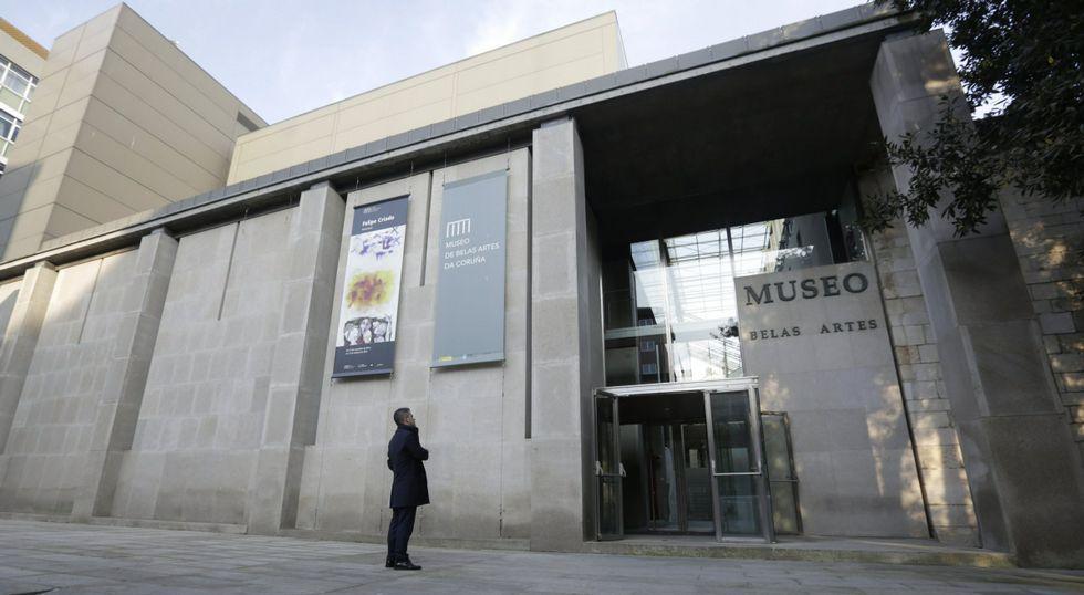 El Museo de Bellas Artes de A Coruña será uno de los lugares para las prácticas.