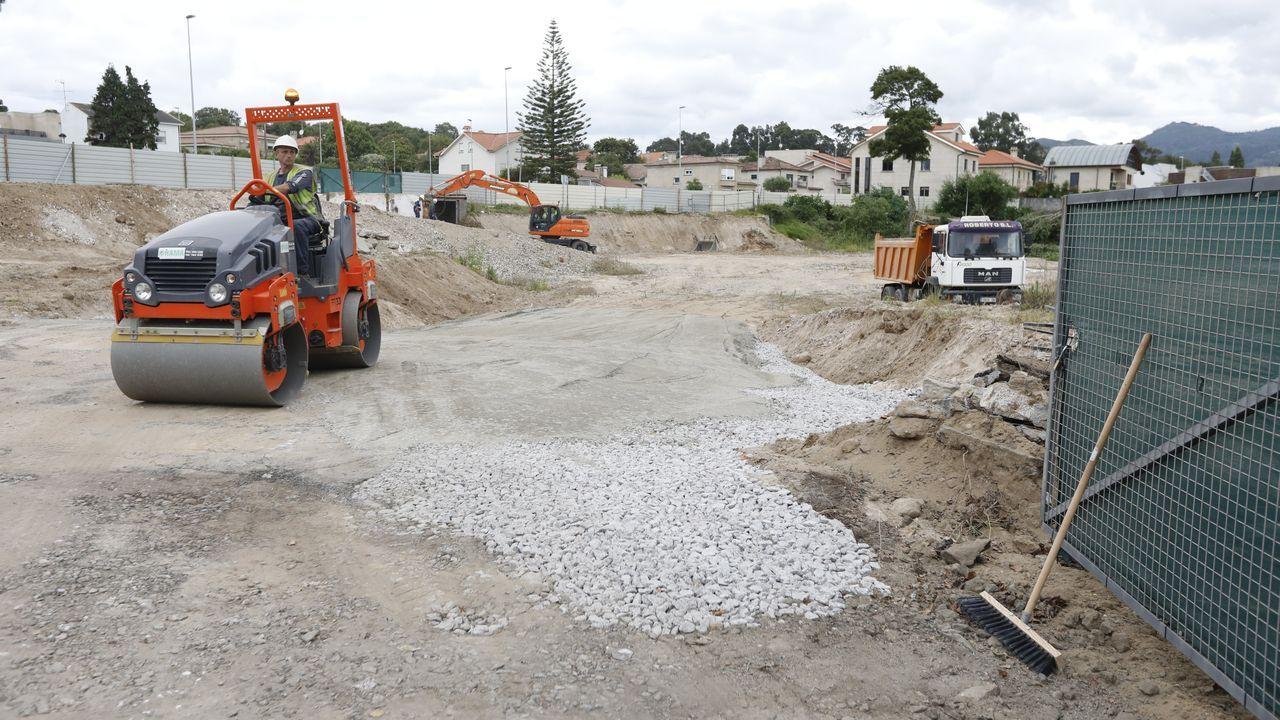 La maquinaria ha comenzado los movimientos de tierras para la construcción
