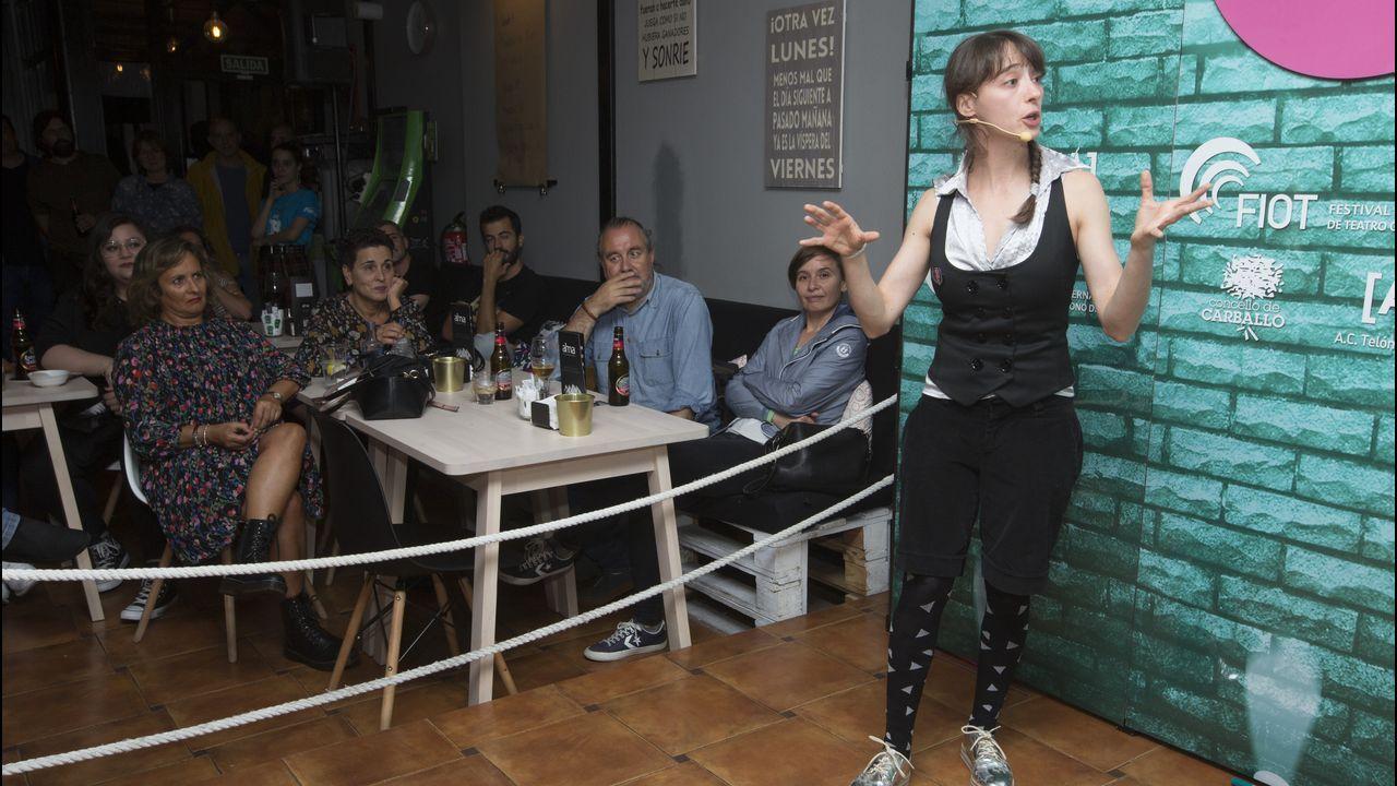 Patty Diphusa, en el Stars Café Bar