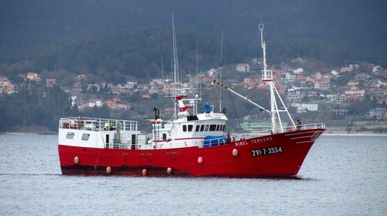 Juan Luis Pía, el día que se leyó la sentencia del Prestige, cuando se cumplían diez años del naufragio del buque