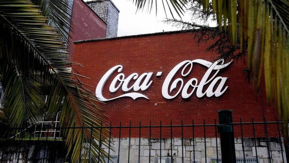 El vídeo que los trabajadores de Coca Cola distribuyen como protesta.Manifestación de los trabajadores de Coca Cola