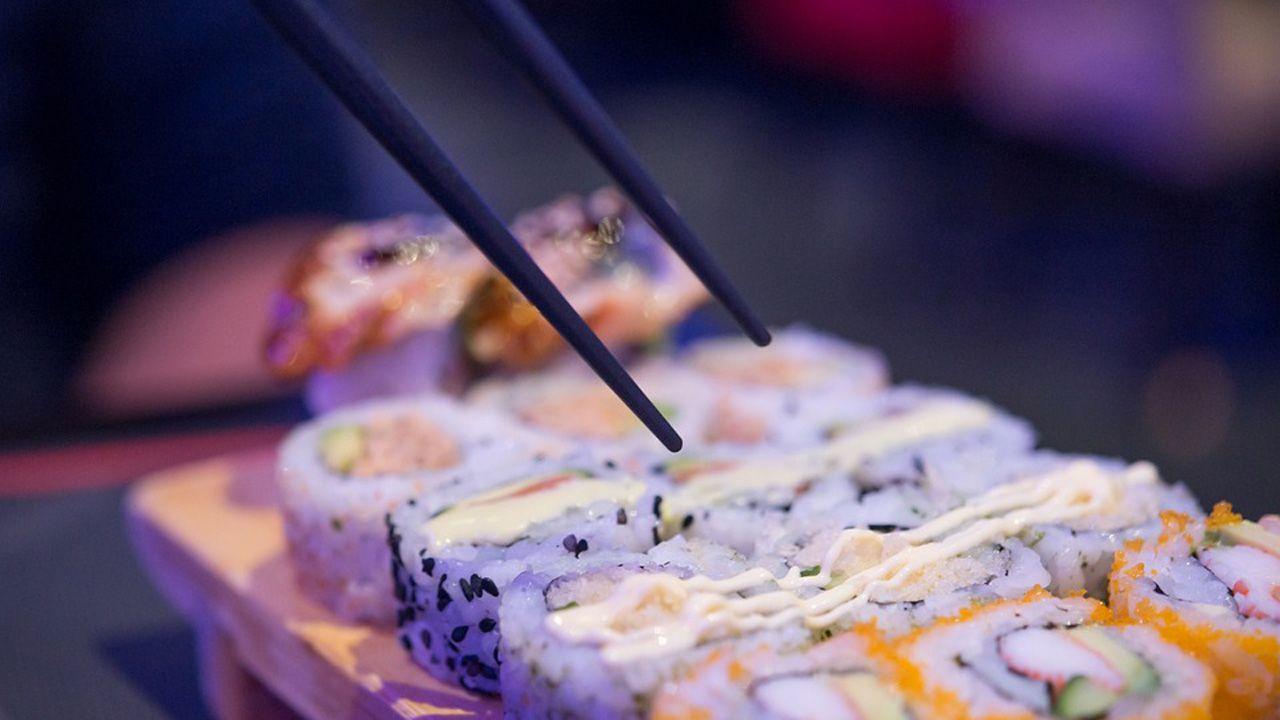 sushi, oviedo, Asturias, comida para llevar.Lara Álvarez y Andrés Velencoso