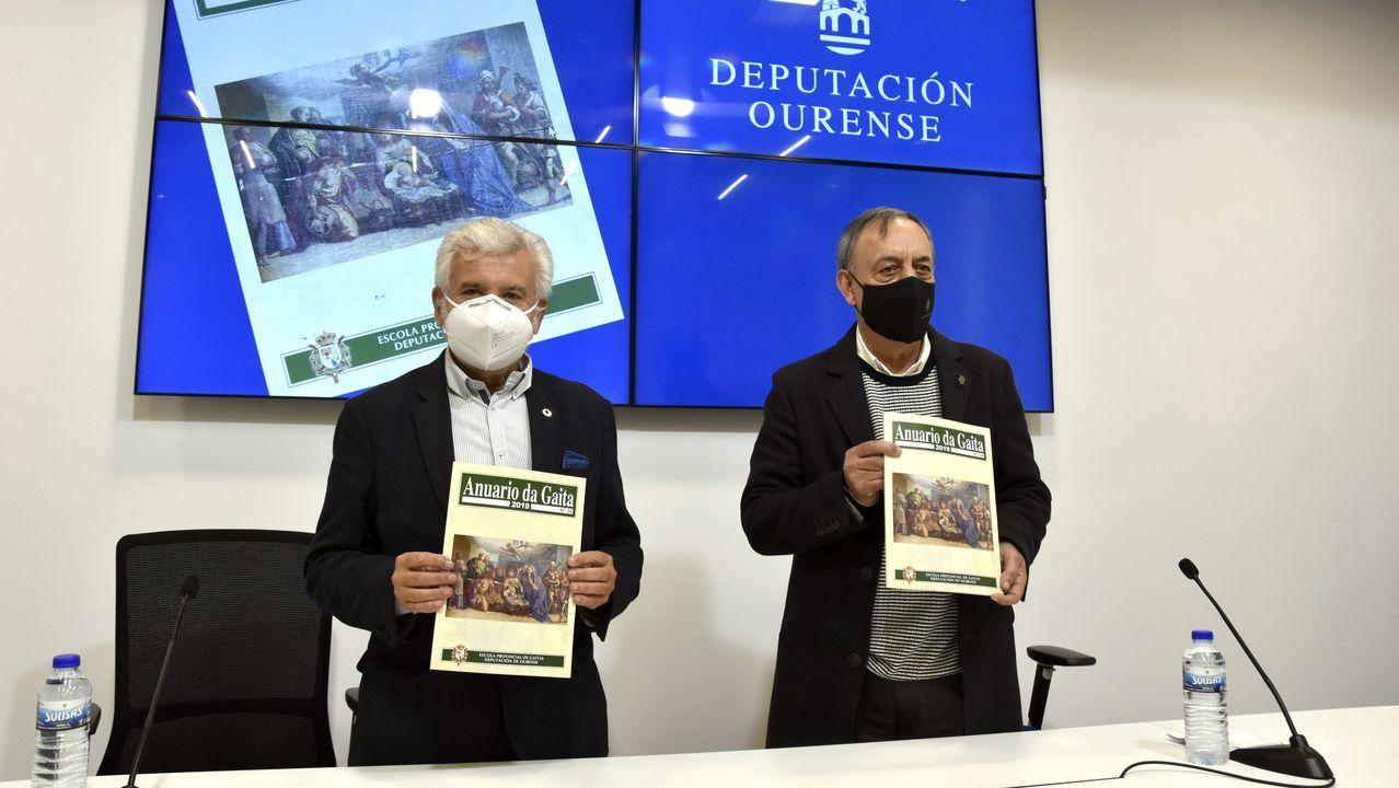 Miguel Tellado y Gonzalo Caballero