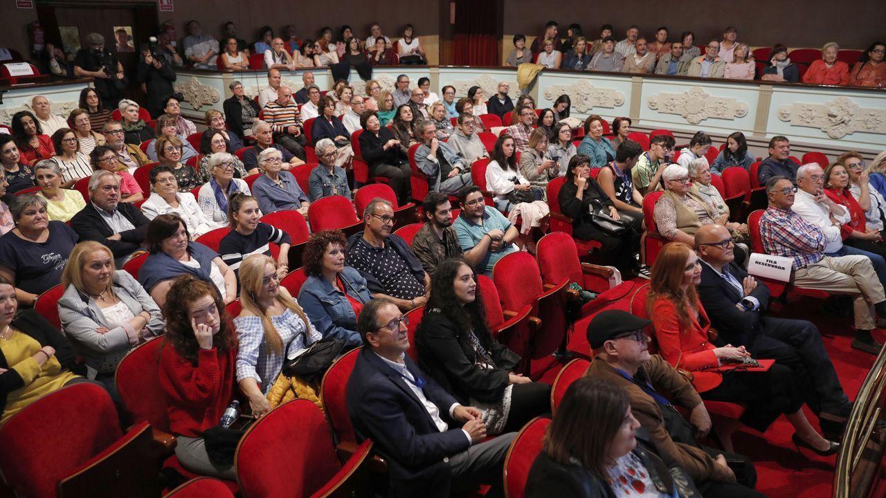 La gala de clausura se celebró en la noche del sábado en el auditorio de Ourense