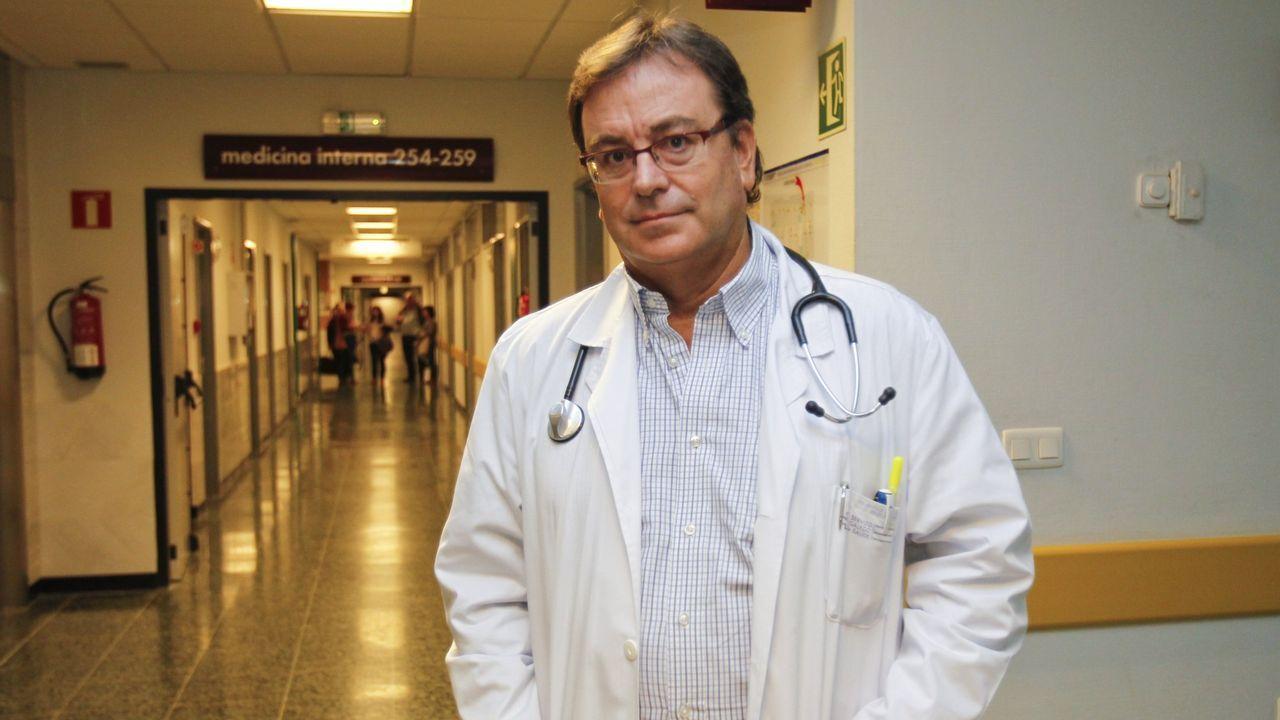 Antela coordina un equipo de internistas y neumólogos para el coronavirus en el Clínico de Santiago