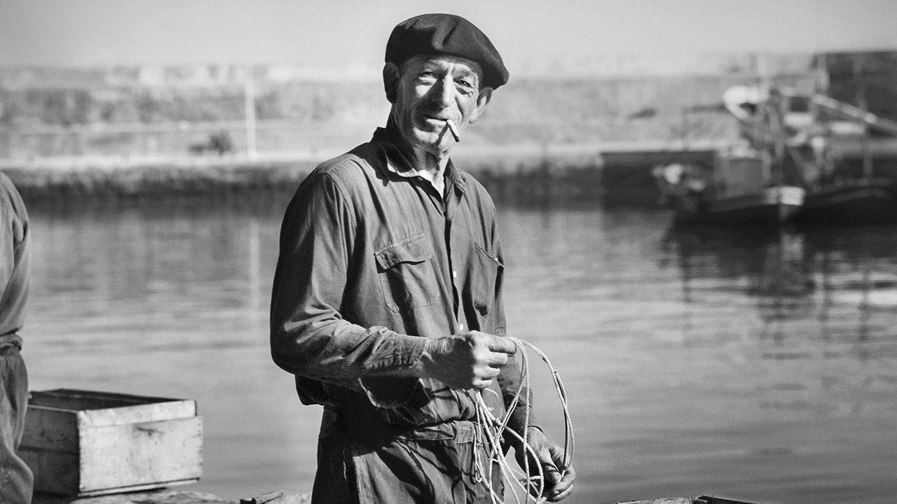 Fragmento de «Pescador» del fotógrafo Nicolás Muller