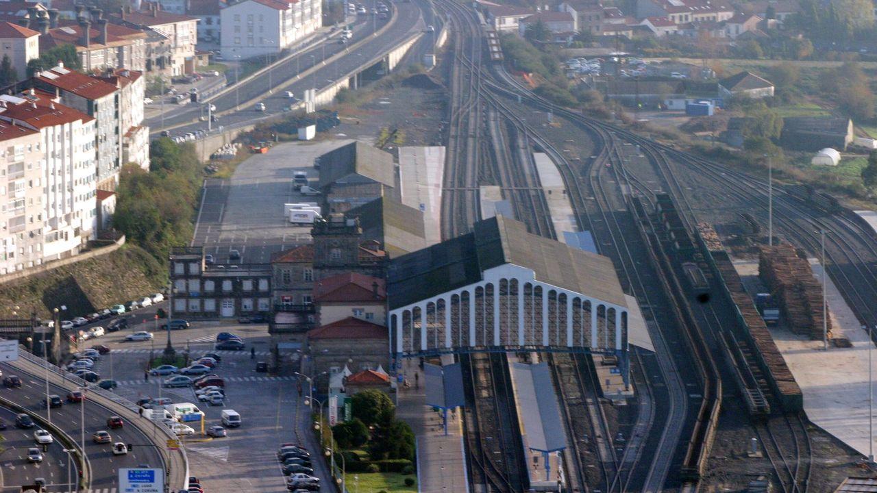 Uno de los proyectos de la agenda urbana coruñesa es abrir la ciudad al puerto urbano