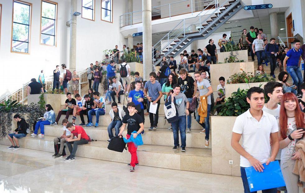 Telecomunicación fue una de las cuatro carreras del campus en las que los alumnos recibieron la bienvenida de los profesores.