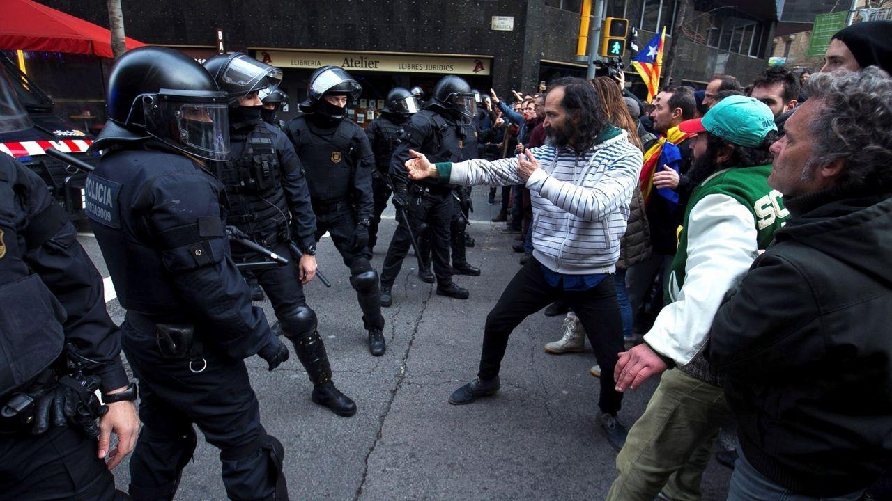 1 de mayo en las calles de A Coruña.Manifestación del Primero de Mayo de 2017