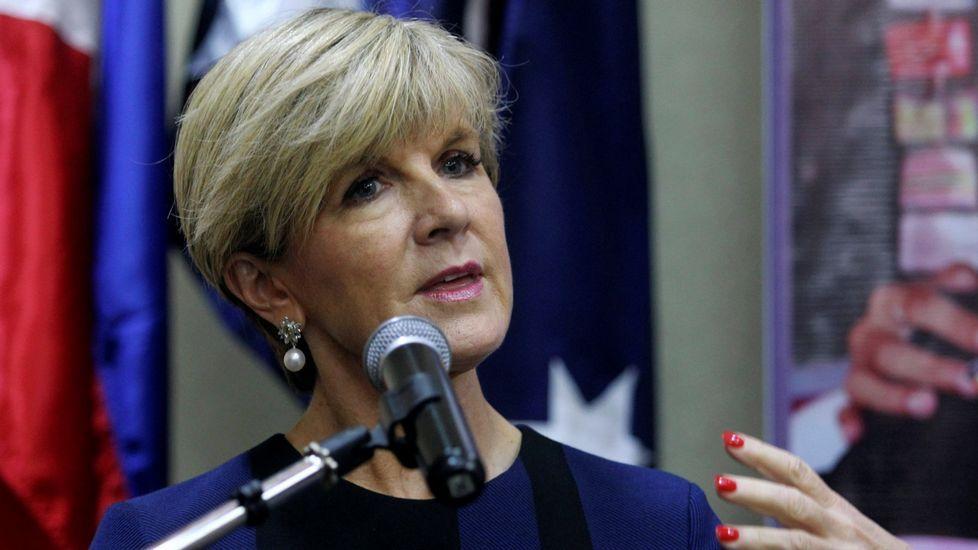 El responsable de finanzas del Vaticano, imputado por abusos sexuales a menores.La ministra de Exteriores australiana, Julie Bishop, durante una visita a Filipinas el pasado marzo