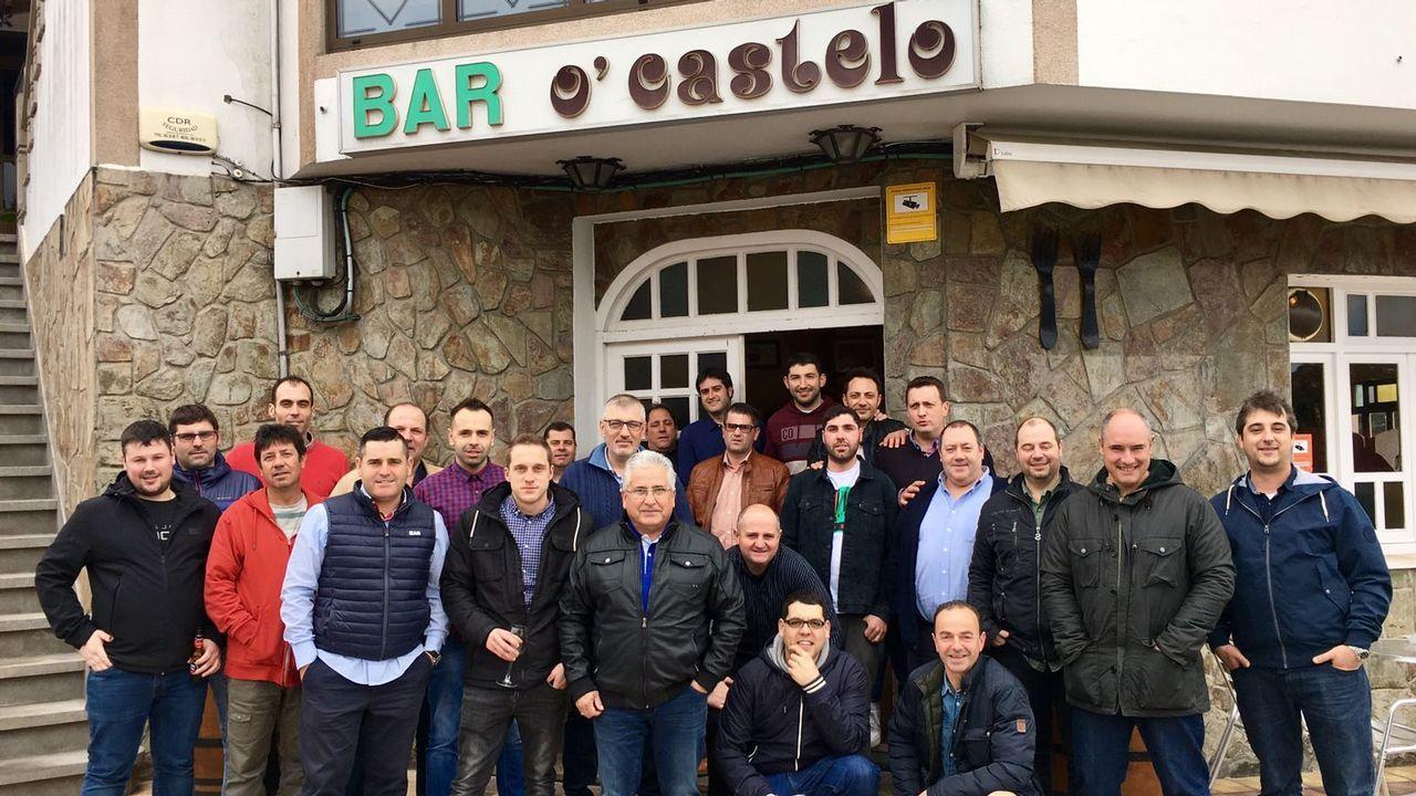 Galicia y Asturias reivindican la «conciencia del noroeste». Puente de los Santos, en la ría del eo, entre Asturias y Galicia
