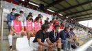 Las imágenes del partido Arousa contra Racing de Ferrol