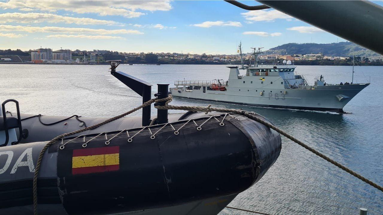 Celebración del Día de la Subdelegación de Defensa en Ourense.Patrullero Arnomendi