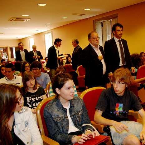 El presidente de la Diputación clausuró el curso.