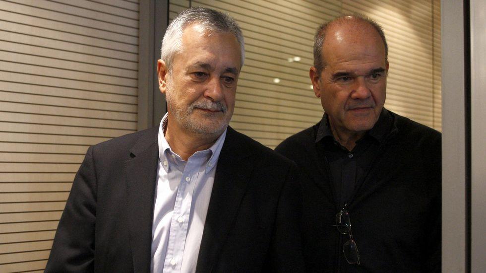 Manuel Chaves y José Antonio Griñán, en una imagen de archivo