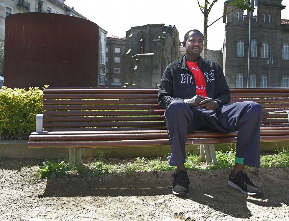 Centro penitenciario de Villabona.Abdoul trata de viajar a su país siempre que puede para cuidar de los suyos.