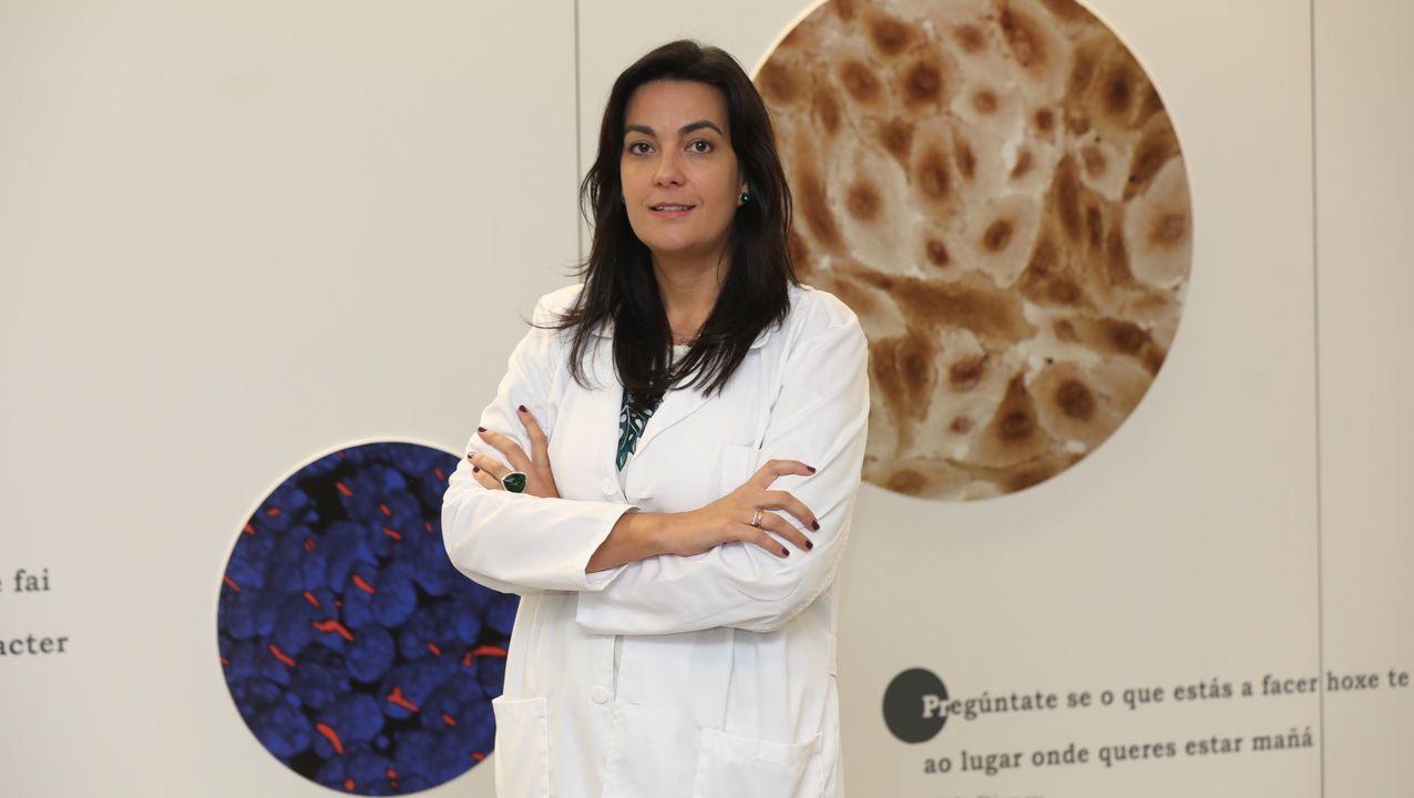 Ana Belén Crujeiras, investigadora del Idis