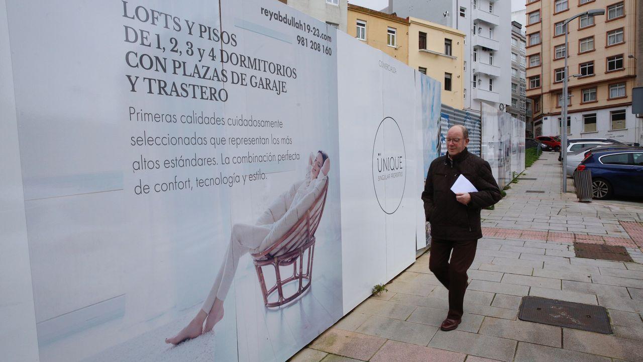 Radiografía de unvecindario en ruinas de A Coruña: el Orzán.CHUAC