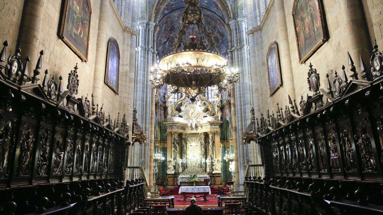 El coro de la Catedral de Lugo