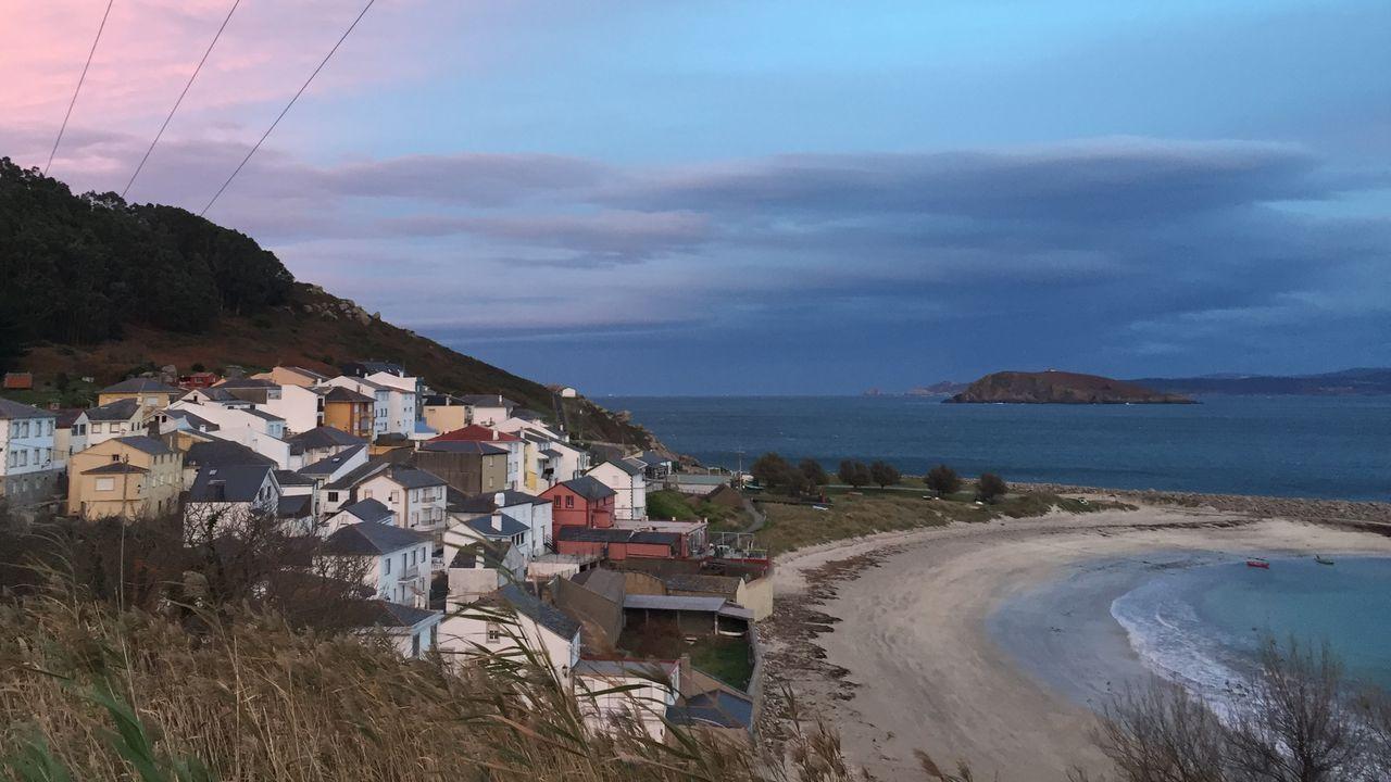 Vista del Porto de Bares, en el municipio de Mañón