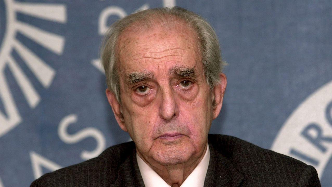 Imagan de Fernando Morán en el 2003