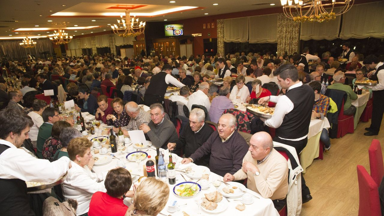 Varias unitarias se unieron para celebrar un magosto conjunto en Castromil