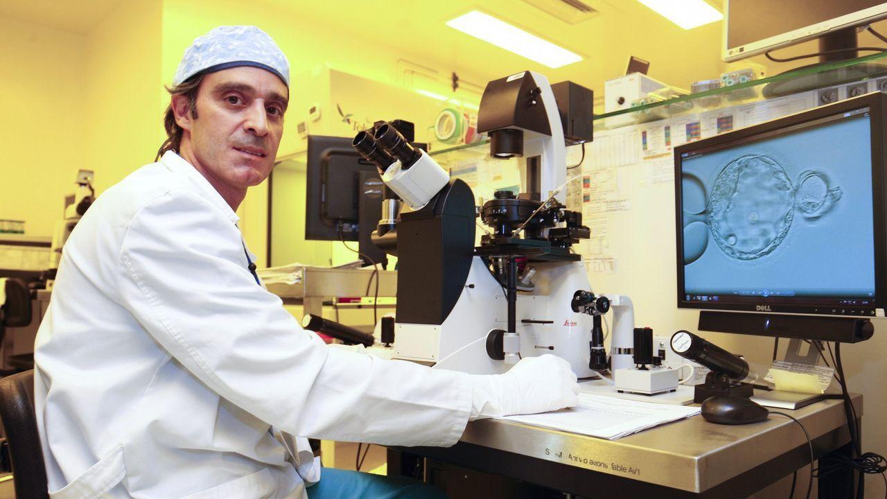 Embriones 5.0: en este laboratorio gallego se incuban los bebés del futuro.Tres de los demandantes