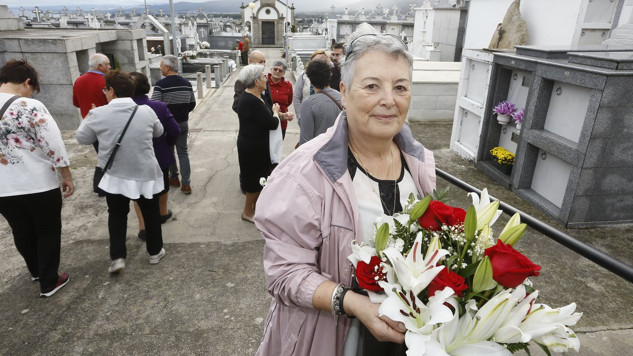 Día de Santos en el cementerio de San Froilán.Día de Difuntos en el cementerio de San Mauro