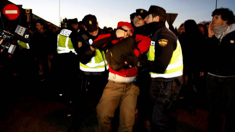 Detención en Santiago de un sindicalista