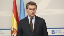 Comparecencia de Feijoo tras la reunión telemática de los presidentes autonómicos con Pedro Sánchez