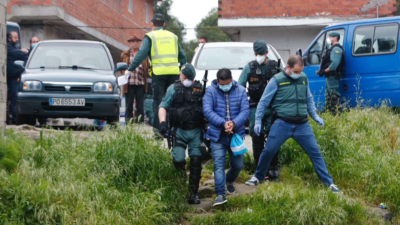 Detenciones en O Vao de Arriba