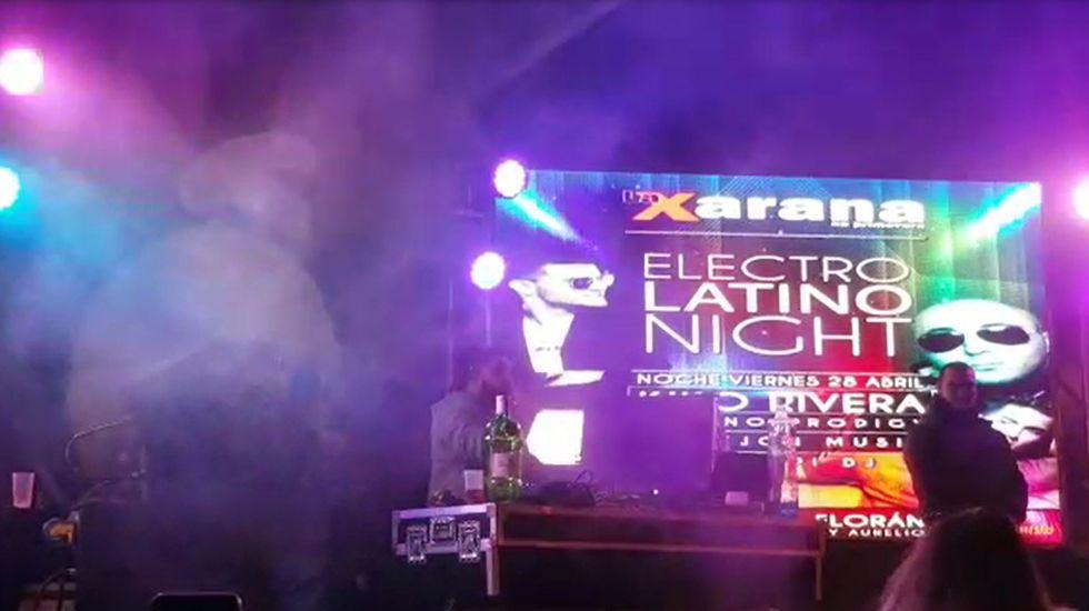 Kiko Rivera en la Xarana na Primavera