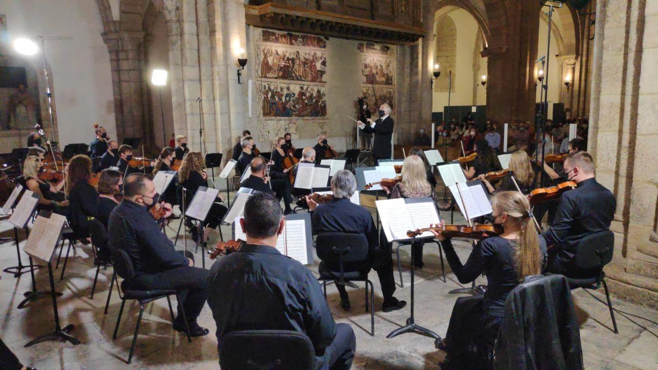 La Real Filharmonía de Galicia en la catedral de Mondoñedo