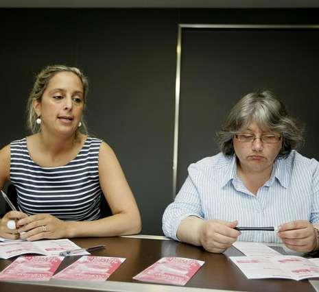 Loureiro y Viamonte destacaron su objetivo de ayudar a las familias.