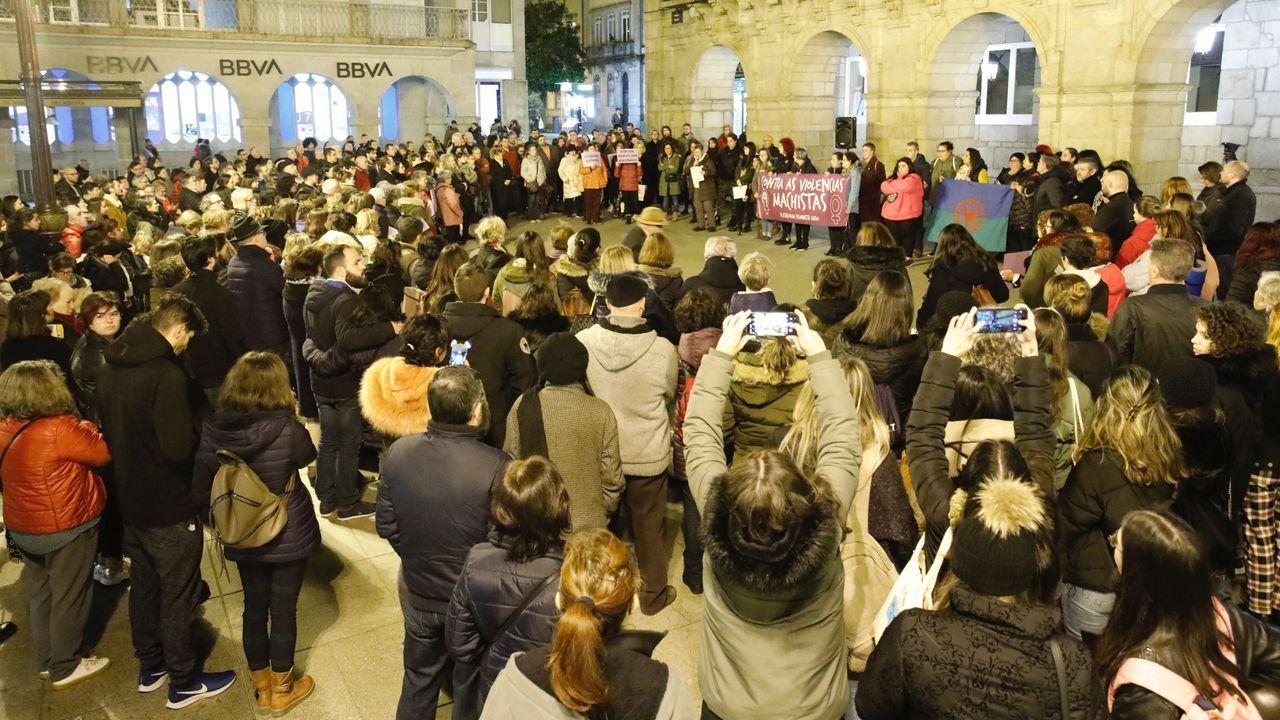 Lugo llora y condena el asesinato de Clara Expósito