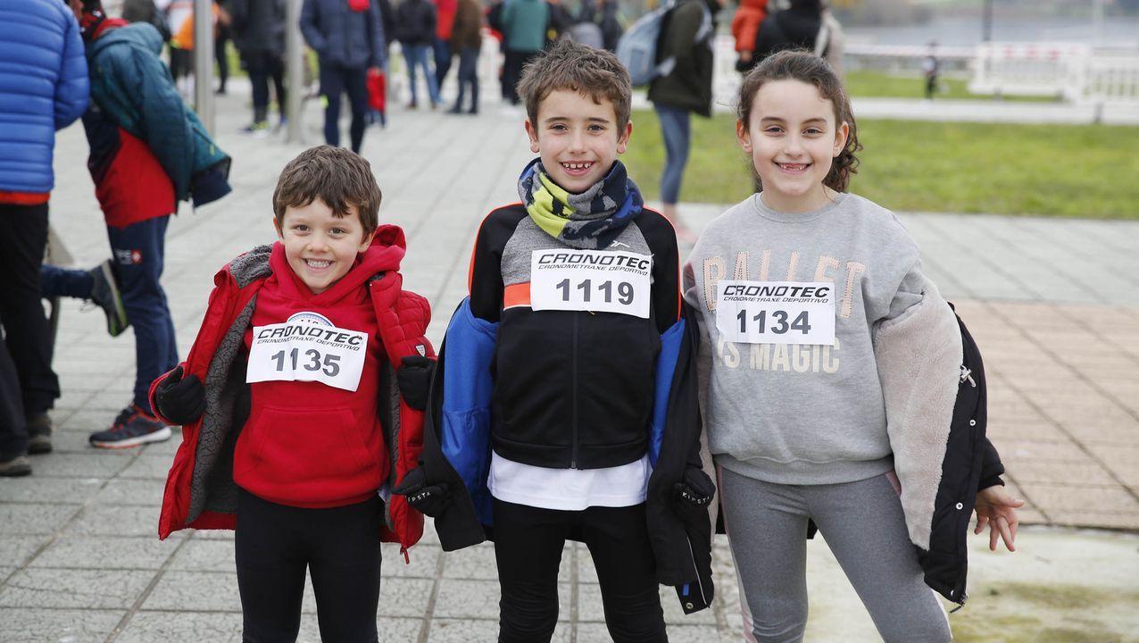 ¡Búscate en el álbum de las carreras de San Silvestre en la provincia de Ourense!
