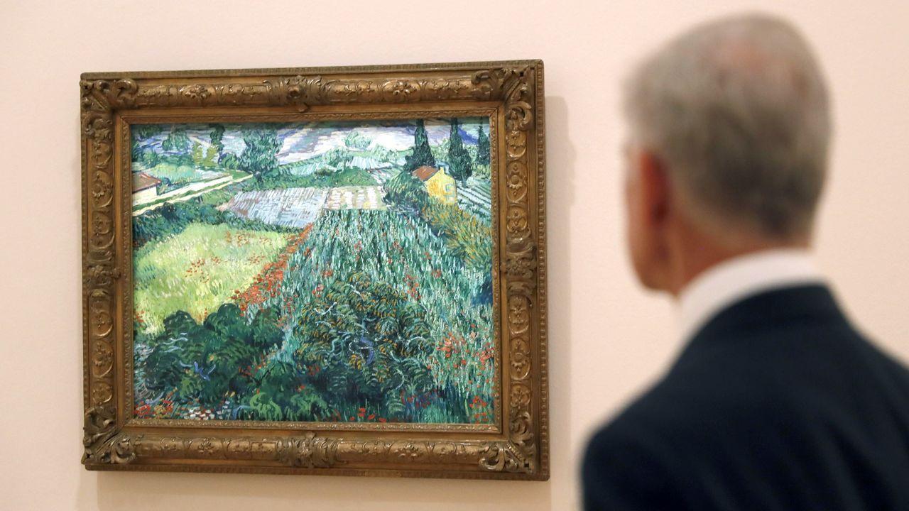 El cuadro de Van Gogh costó 30.000 marcos cuando la Kunsthalle de Bremen lo adquirió en 1911