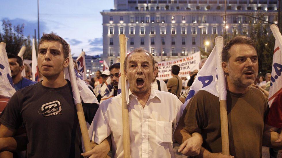 En Grecia siguen diciendo «no»