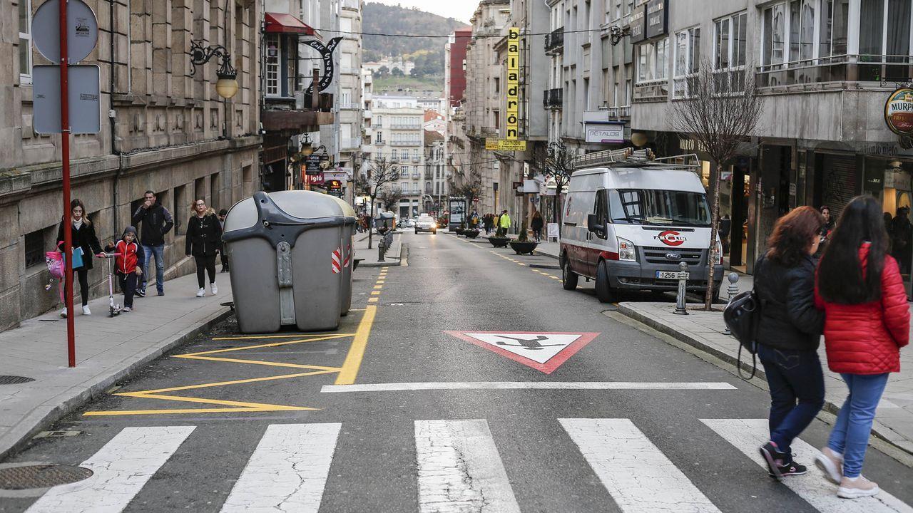 La hostelería protesta de nuevo contra las medidas anticovid.La calle Concordia es una de las previstas en el plan de sistemas de elevación