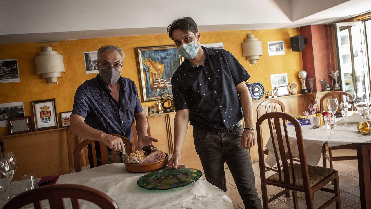 Los cazafantasmas toman Chaioso.Antonio y Bruno afirman que una de las especialidades del Llovizna es el cocido