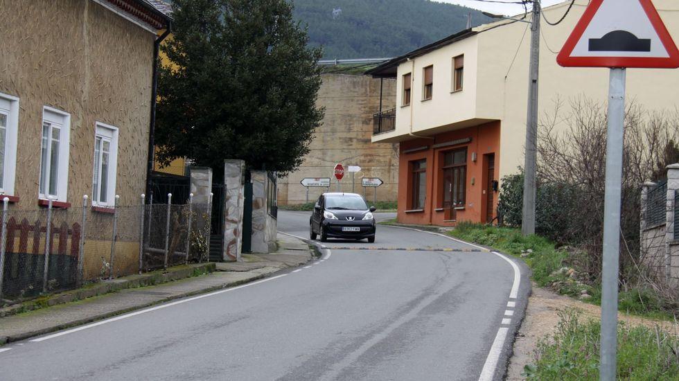Acceso a A Rúa por A Rúa Vella