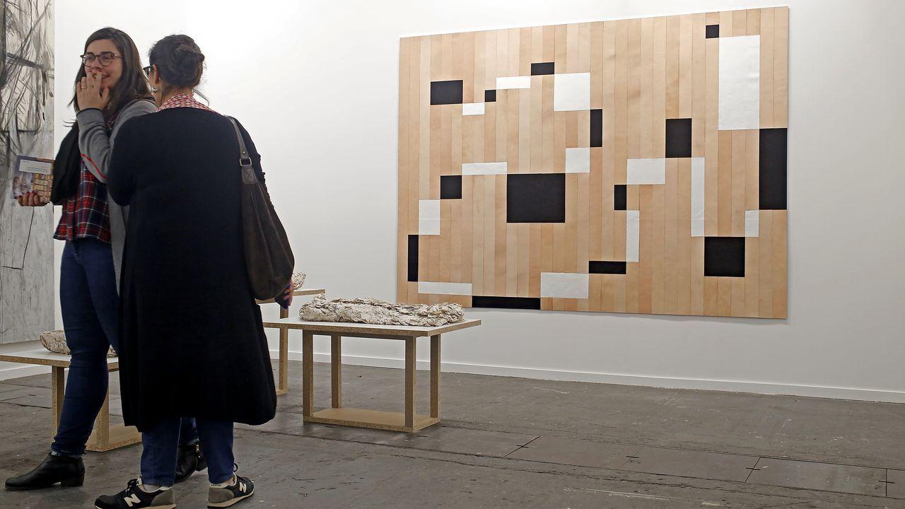 Obra reciente del artista vigués Kiko Pérez, resultado de su paso por la residencia mexicana Casa Granero, presente en la galería madrileña Heinrich Ehrhardt
