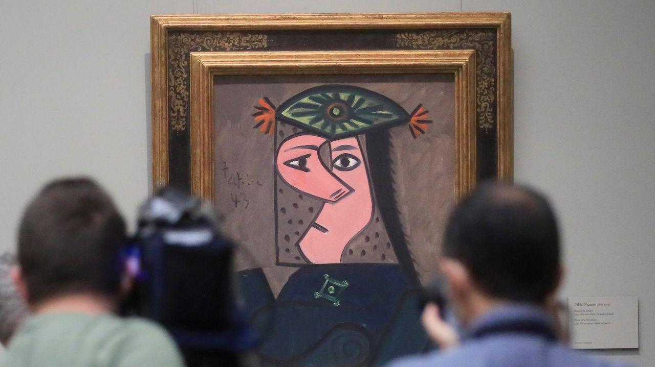 «Busto de mujer», de Pablo Picasso, ya cuelga de las paredes del Prado.