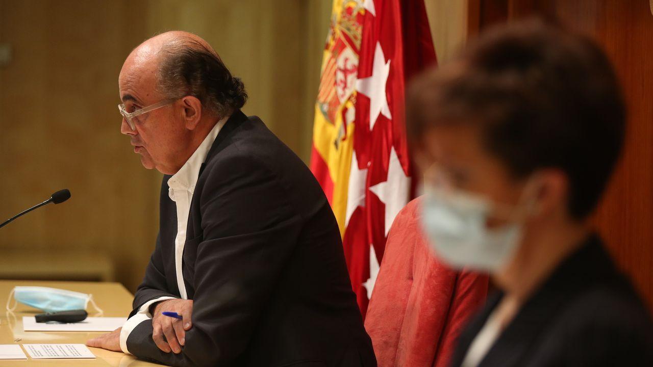 India se quedó sin espacio en los crematorios.El viceconsejero de Salud Pública de Madrid y Plan Covid-19, Antonio Zapatero